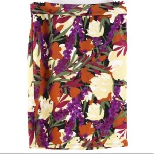 LuLaRoe Skirts - 🔴4 FOR $30🔴LuLaRoe Floral Print Cassie Skirt